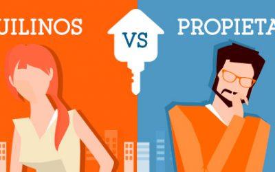Problemas Entre Propietarios y Inquilinos
